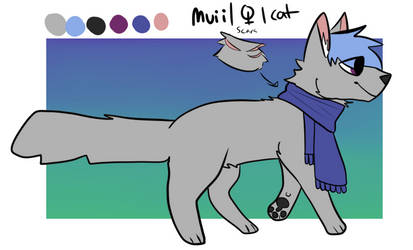 muii feral ref by MuiiTheCat