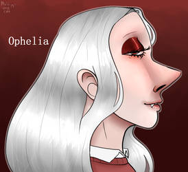 Ophelia by MuiiTheCat