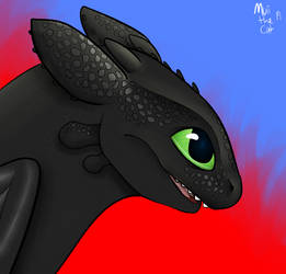 Toothless by MuiiTheCat