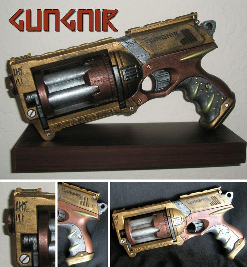 Gungnir - Nerf Gun Mod by bdunn1342