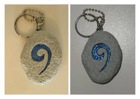 Hearthstone Keychain by bdunn1342