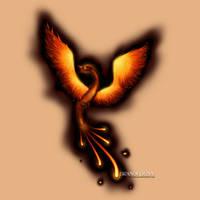 Phoenix Tattoo Design by bdunn1342