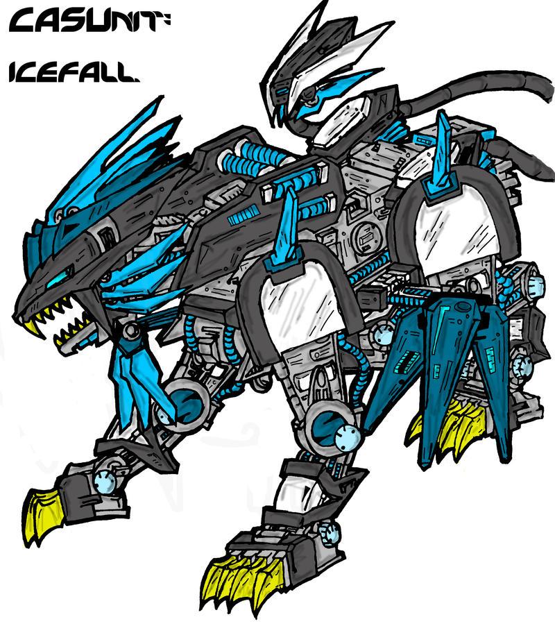 .icefall. by RokubiThunder
