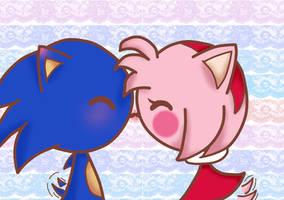 Cute Kiss by Nami-LOVE