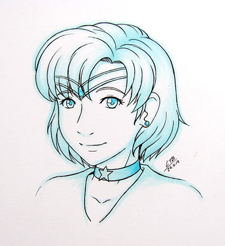 Sailor Mercury by Vatina