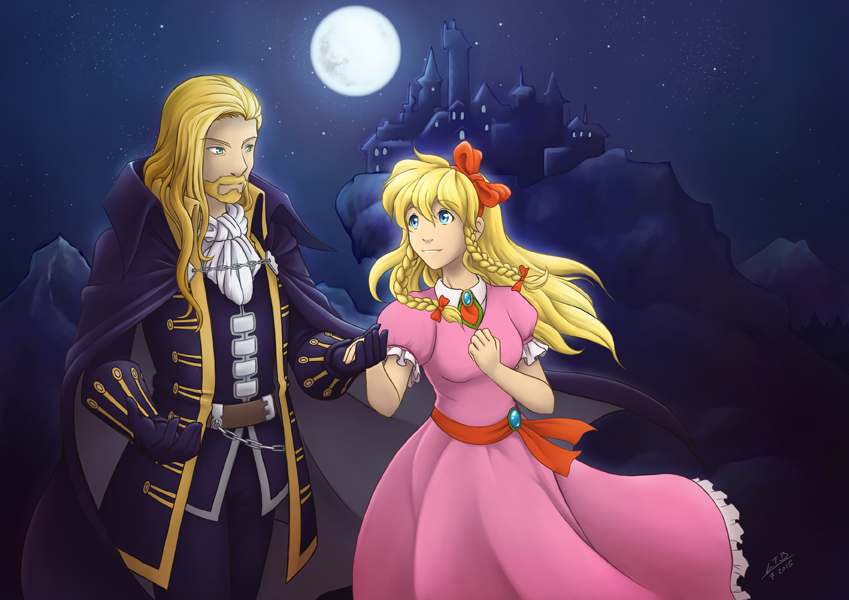Commission: Castlevania by Vatina
