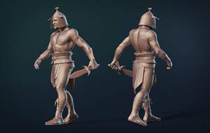 Gladiator clayrender