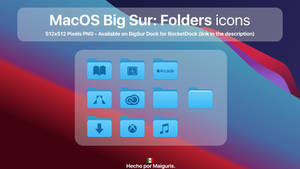 MacOS Big Sur: Folder icons 1st Collection