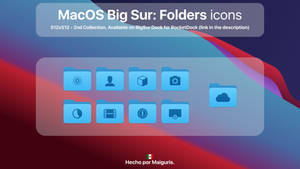 MacOS Big Sur: Folder icons 2nd Collection