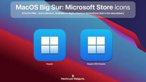 MacOS Big Sur: Microsoft Store icons
