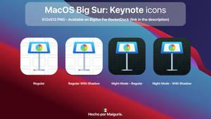 MacOS Big Sur: New Keynote icon