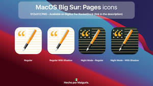 MacOS Big Sur: New Pages icon