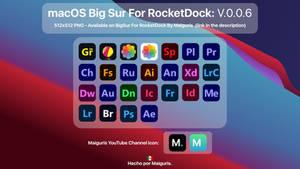 macOS Big Sur For RocketDock: V.0.0.6 Added Icons