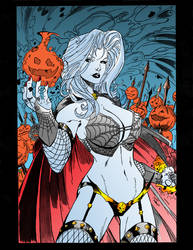 Lady Death Colored