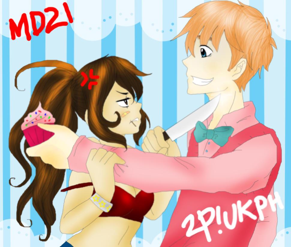 I Don't Wanna Eat Your Damn Cupcake - 2P!UKPH by nyxxeii