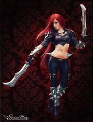 League Of Legends | Katarina by EwelinaMalke