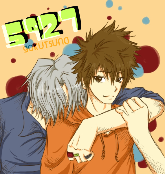 KHR: Gokudera and Tsuna by kyungok
