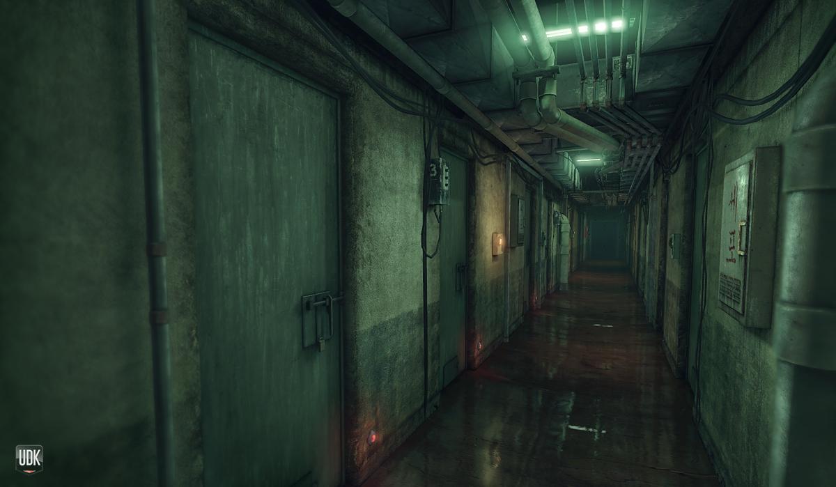 Oldboy Corridor by xell