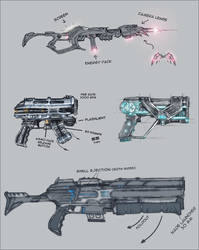 scifi weaponry