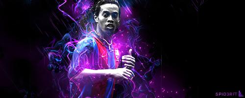 Campeões da 6º Temporada   Ronaldinho___spid3r_ft__lin3__by_mrlin3-d3eu5wx