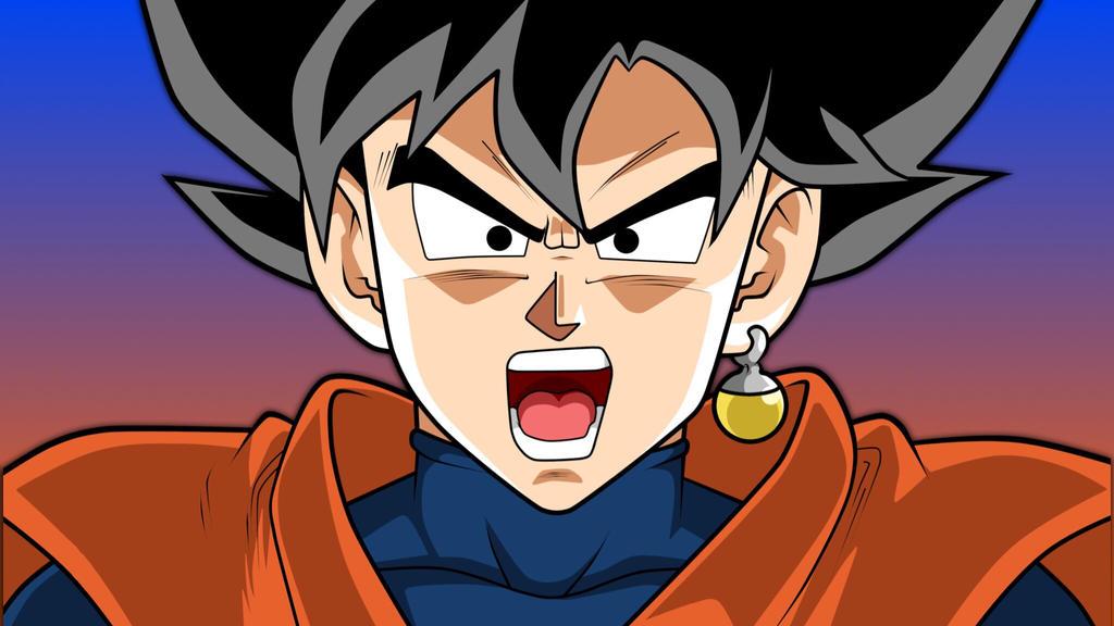 Goku Black ( Alt Colors )  by SnapBackKid23