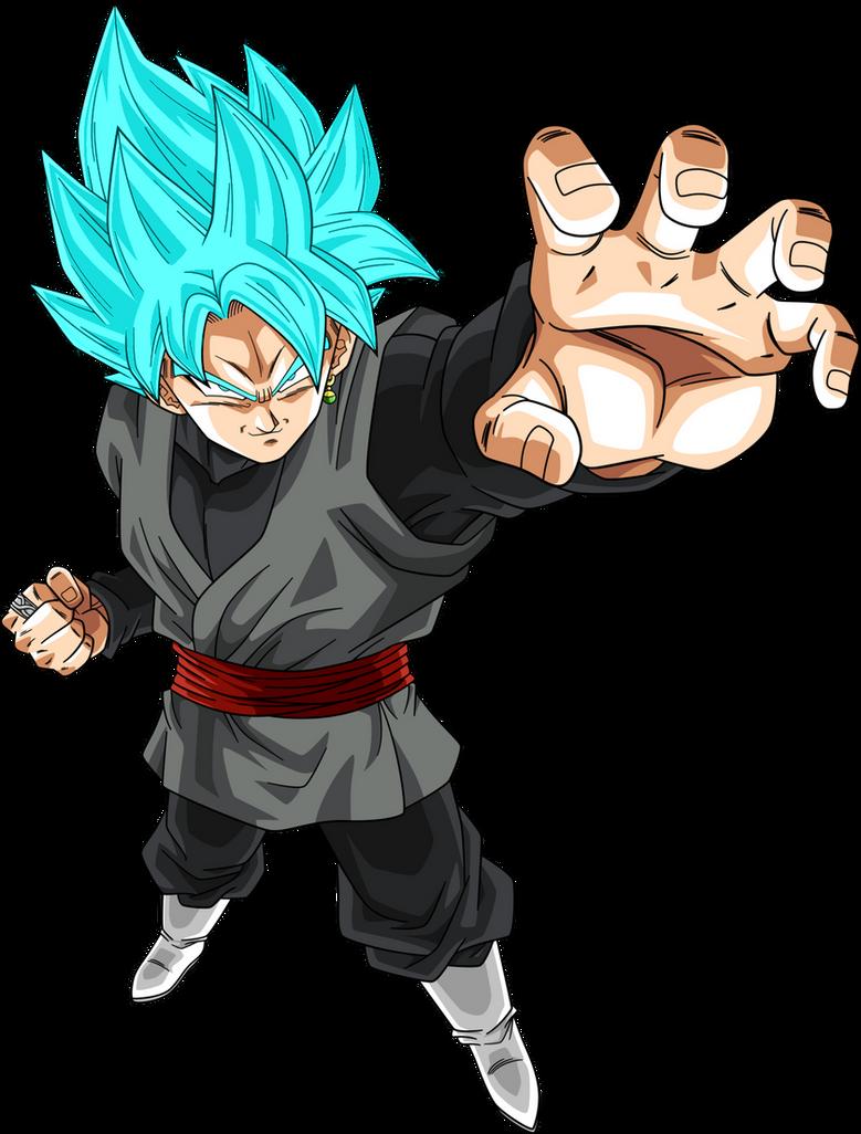 Image - Black goku super saiyan rose manga 20 by nekoar ...  |Black Goku Super Saiyan