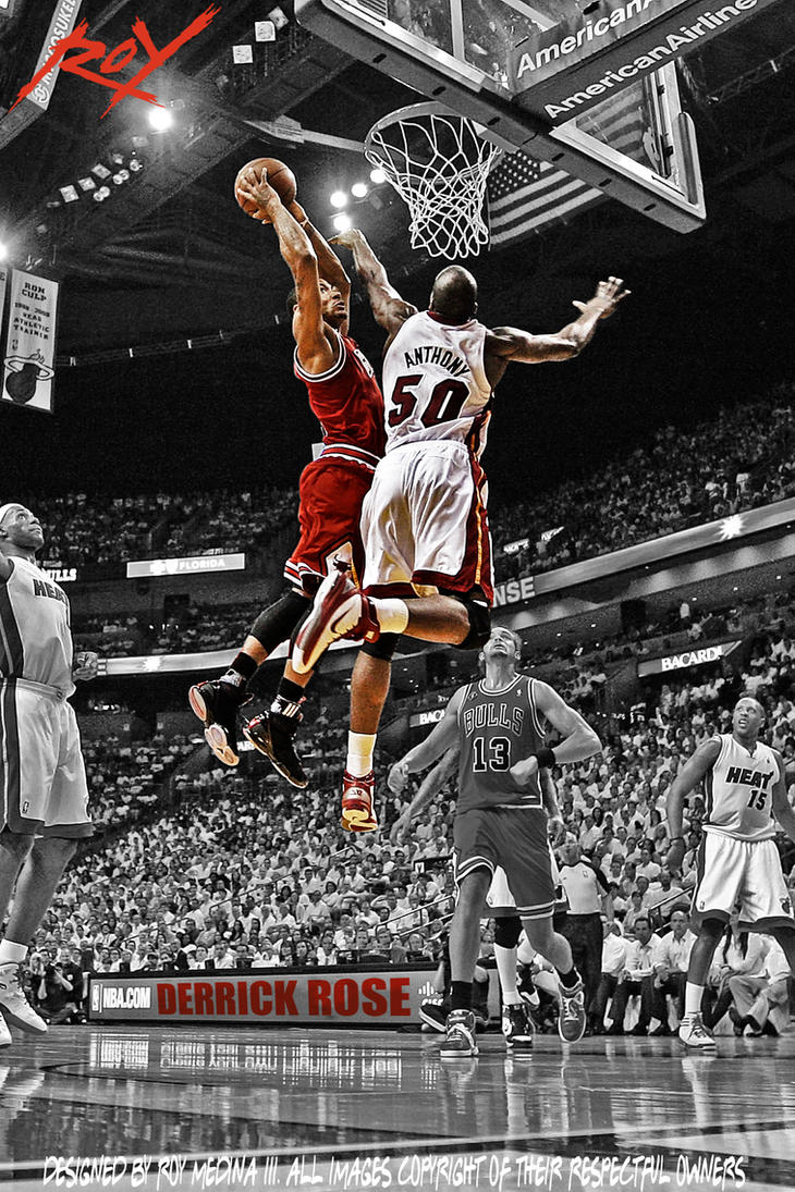 Derrick Rose by Roy03x...