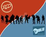 Team Fortress: Red vs Blu