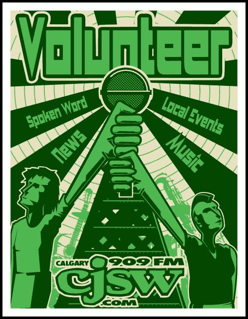-Volunteer- poster by hjhornbeck