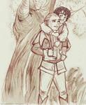 Frodo and Legolas