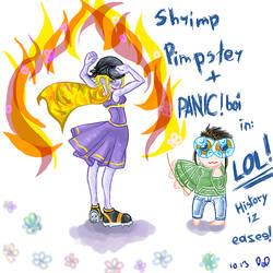 Pimp Shrimpster by krypto-wamp