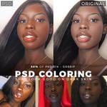 PSD Coloring for Dark Skin #2