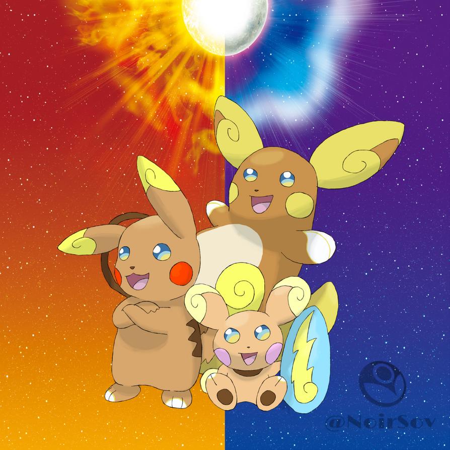 Dragonair Pikachu Line Alola by ...