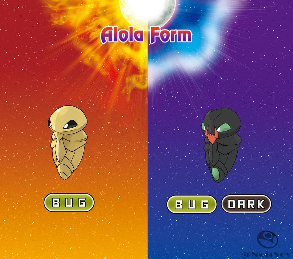 Kakuna Alola Form by NoirSov
