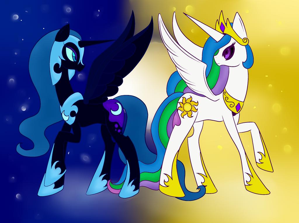 princess celestia vs nightmare - photo #14