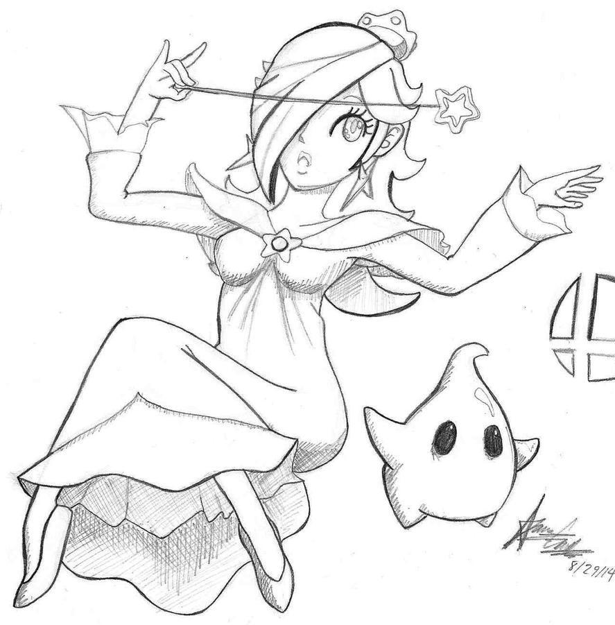 Rosalina and Luma by originArts