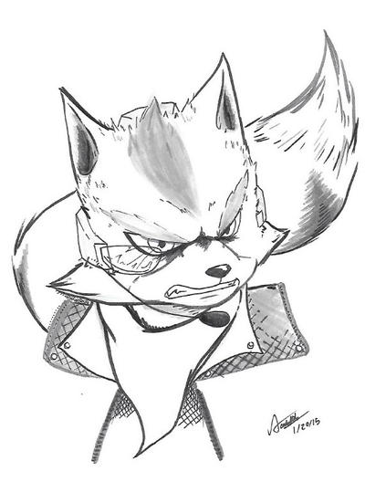 Fiery Fox by originArts