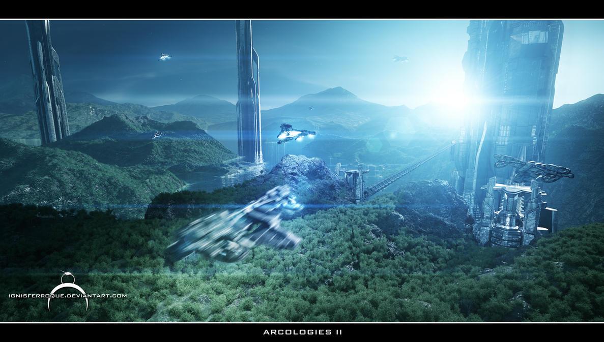 Arcologies II by IgnisFerroque