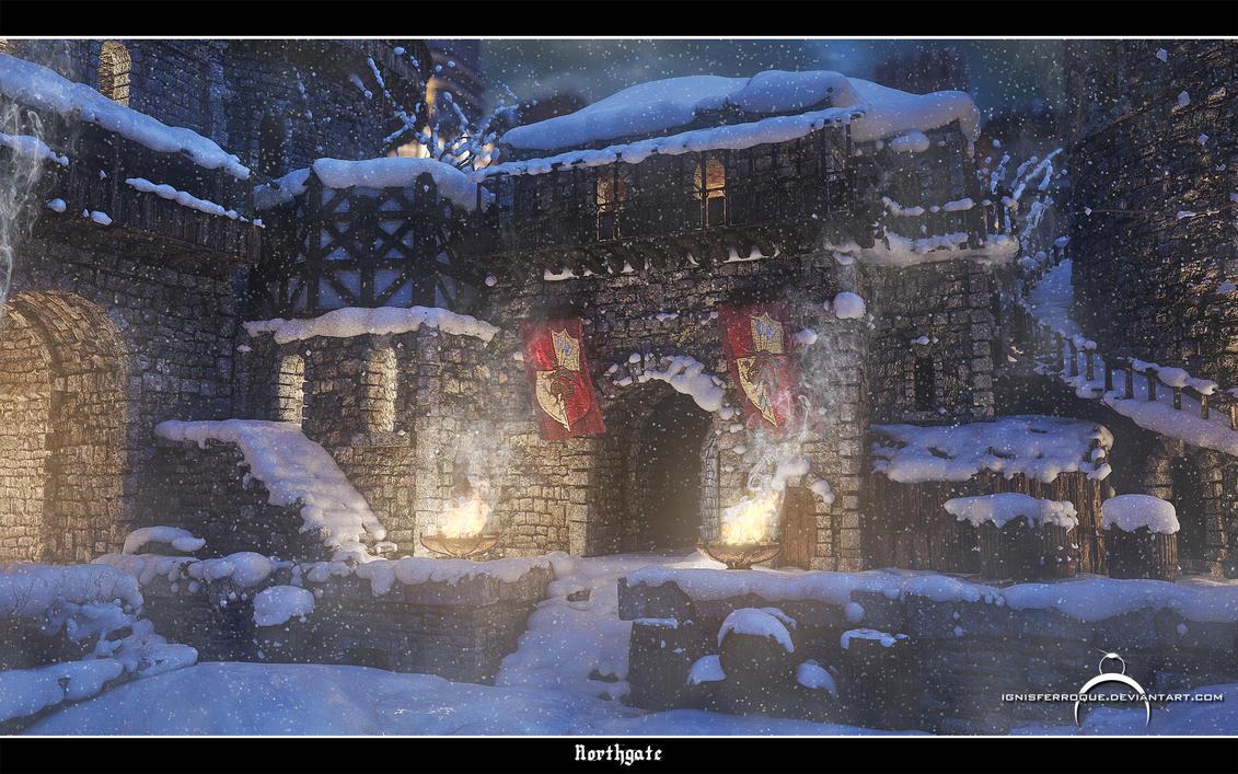 Northgate - Winter by IgnisFerroque