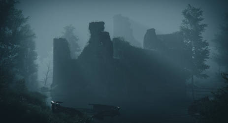 Water Castle - Night