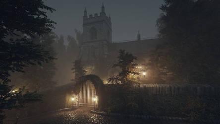 Abbey (Night)