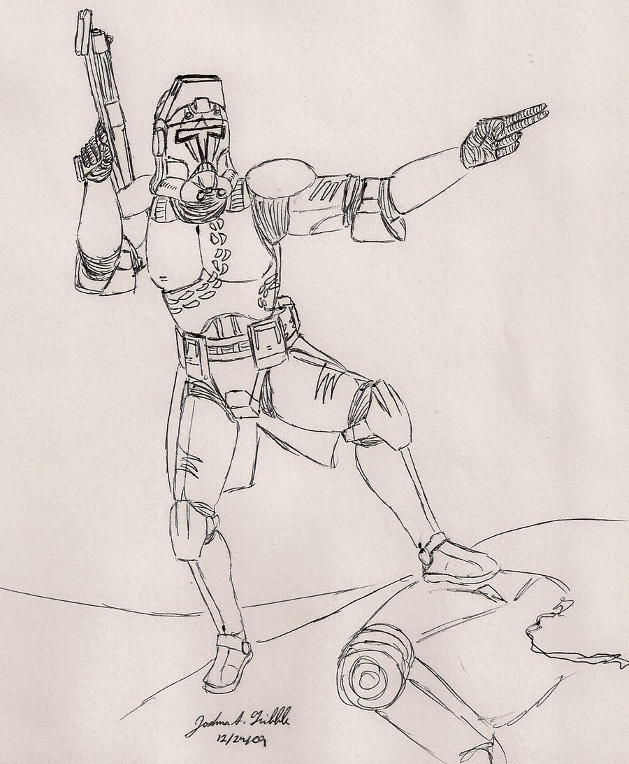 a clone trooper design mk1 by tribble industries on deviantart