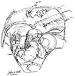 Air Combat Sketch 1