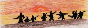 A Clone Trooper Sunset March