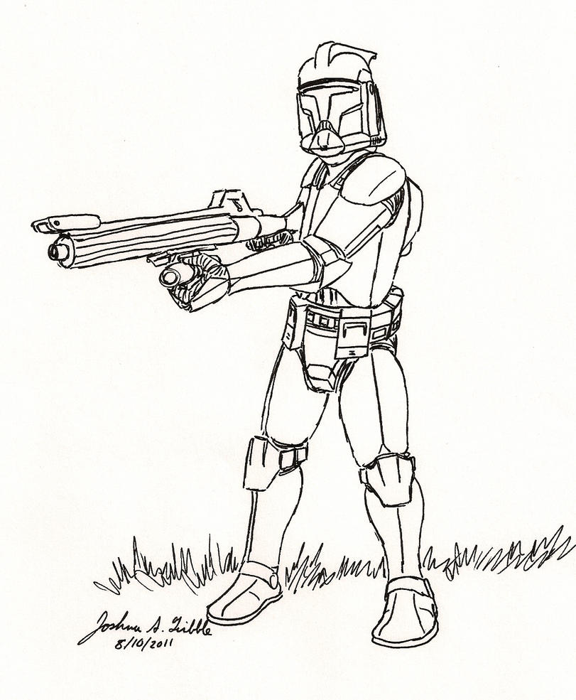 star wars clone coloring pages - photo#20