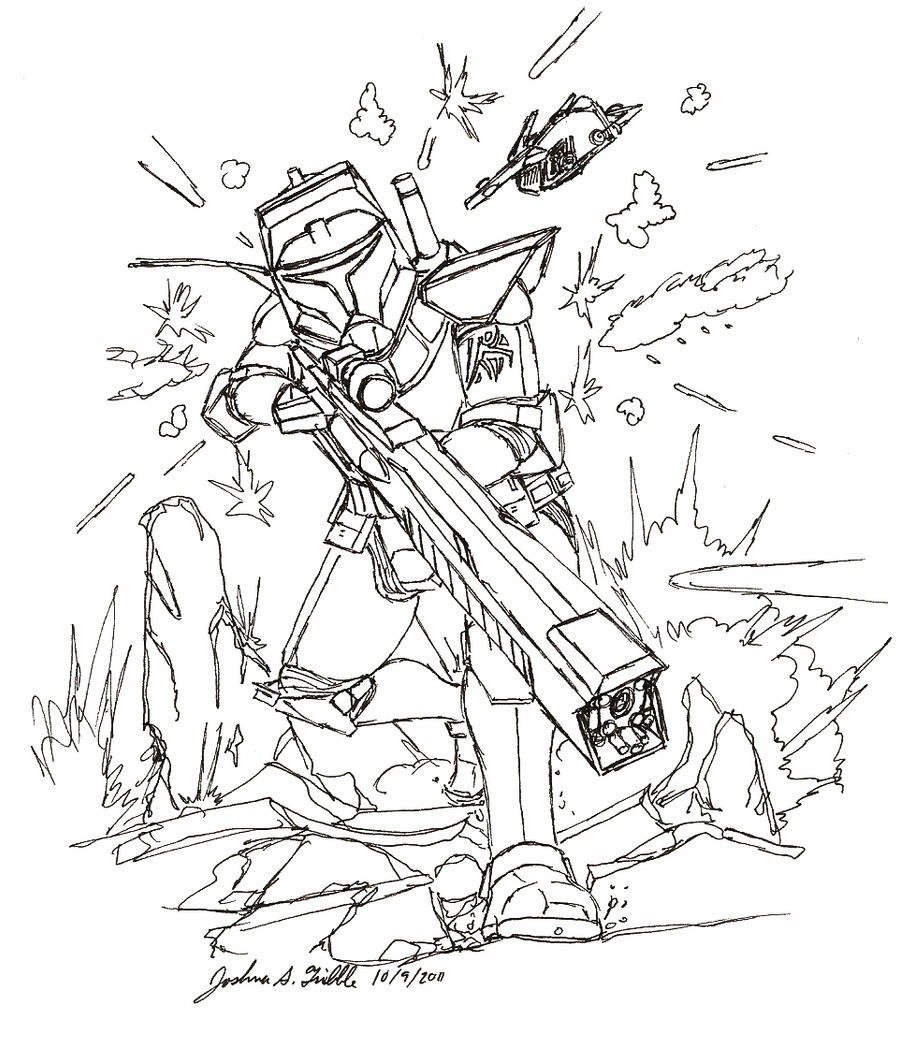 Clone Trooper Sniper Concept By Tribble Industries On