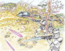 The Flames of the Clone War Mk II