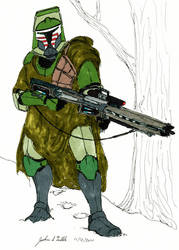 Clone Sharpshooter Armor Hunter