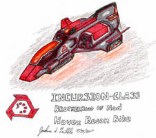 INCURSION-CLASS Nod Hover Recon Bike by Tribble-Industries