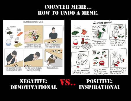 Counter Meme - Learn to Make Sushi.